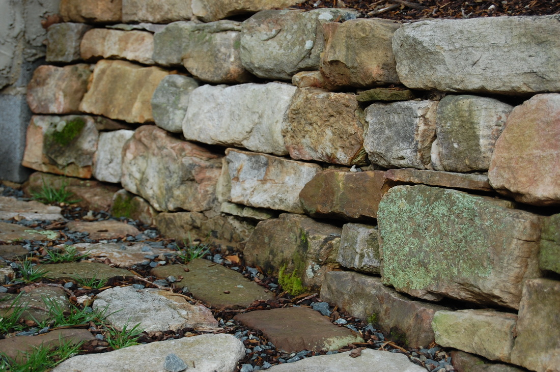 Building A Rock Retaining Wall Natural Stone