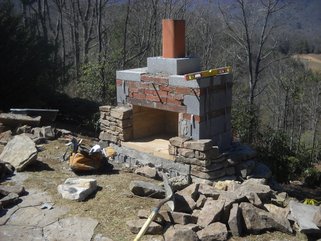Stonetutorials living stone masonry for Where to buy outdoor fireplace