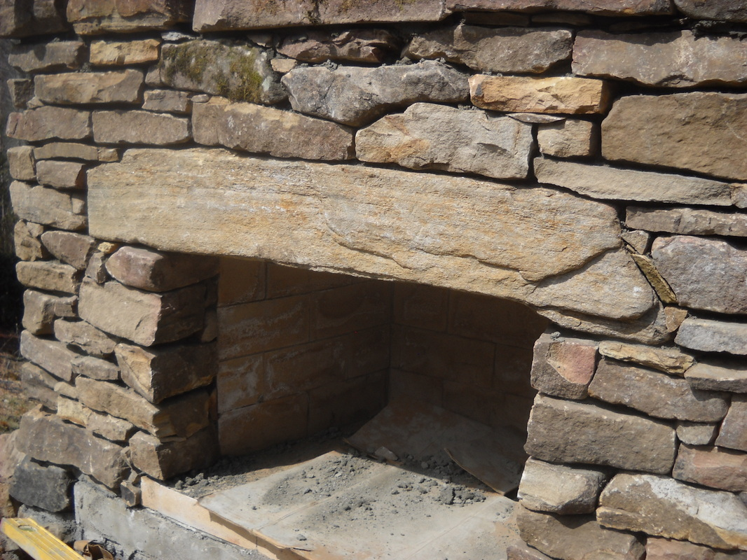 Stonetutorials living stone masonry for Firerock fireplace cost