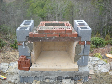 Build a Brick Outdoor Fireplace/Grill | DIY Furniture/Wood