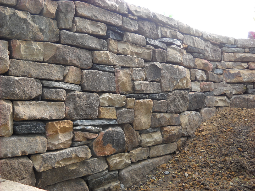 Have You Ever Wanted A Stone Retaining Wall To Replace Your Ugly Rotting Railroad Tie Or Pressure Treated Nothing Can Compare Durability And